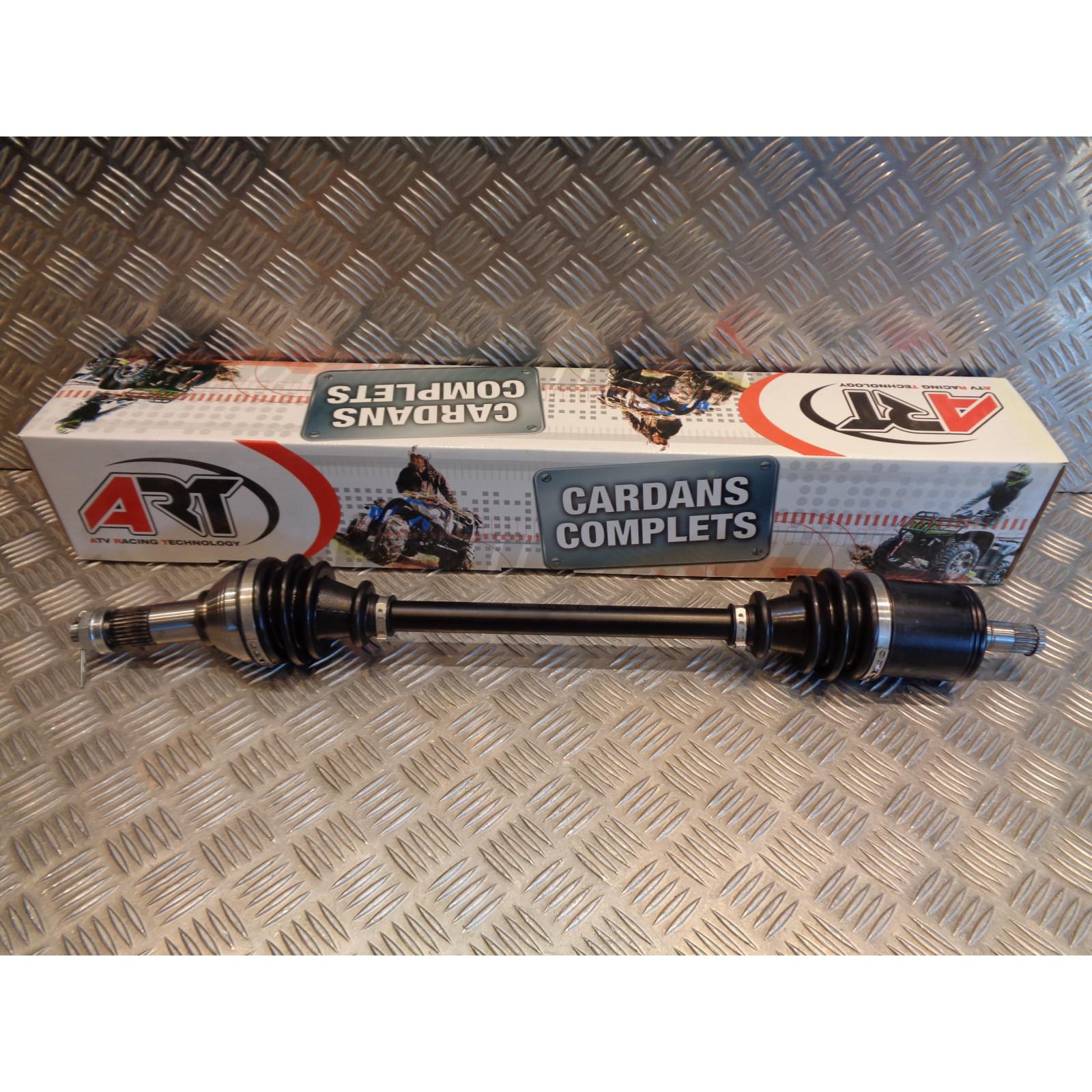 cardan complet avant droit quad buggy ssv can am 500 800 1000 defender traxter ART PD-PAXL-3030 bihr 43100021