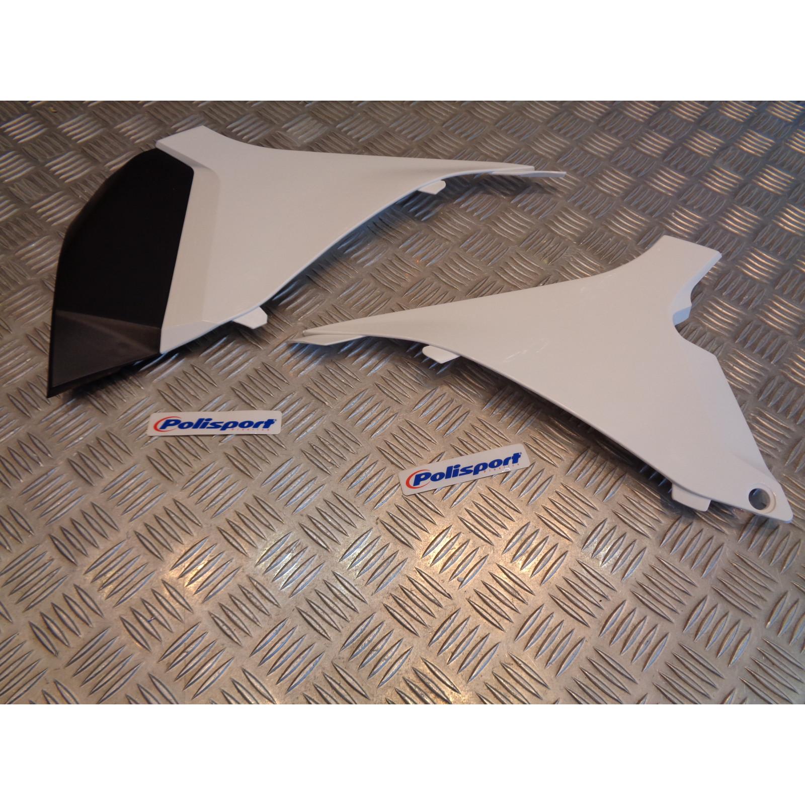 kit 2 cache lateraux boite air polisport 8403000001 moto ktm 125 250 350 450 sx sx-f bihr PS318W02