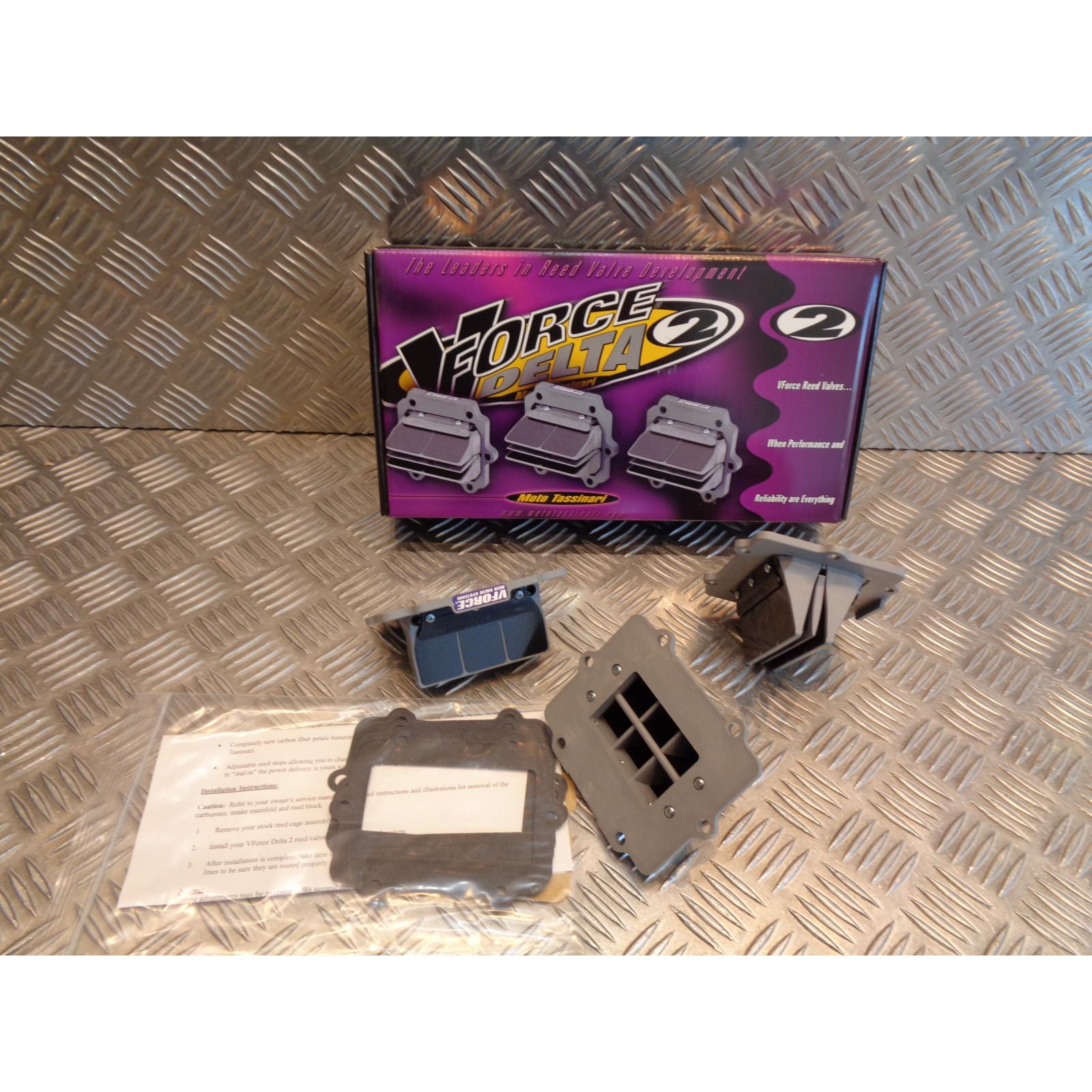 kit 3 boite clapet carbone v-force 2 jet ski polaris 900 / 1050 sl sltx 2V2W132-3 bihr 360510