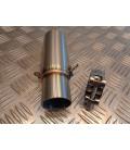 manchon tuyau tube pot echappement pour silencieux 51 mm scooter piaggio 125 250 300 mp3 x10 beverly adaptateur