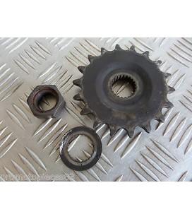 pignon transmission ecrou moteur origine moto aprilia 600 pegaso 1990 - 1992