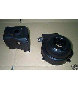 volute refroidissement air couvre cylindre coiffe scooter derbi 50 atlantis