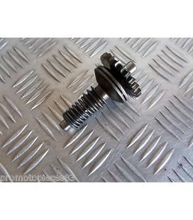 pignon commande ouverture valve echappement origine moto honda 125 mtx jd05 1984