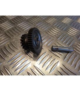 pignon entre roue libre et demarreur origine scooter chinois 125 152 qmi gy6 4 temps