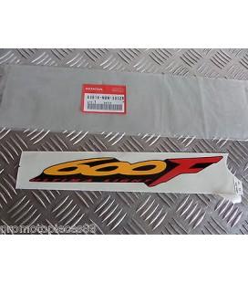autocollant adhesif droit origine honda 600 cbr 1999 83616-mbw-300zb