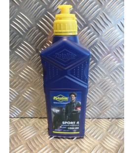 1 litre huile putoline moto sport 4 10w40 semi synthetique 4 temps