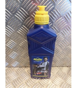 1 litre huile putoline tt sport moto scooter 100% synthetique 2 temps