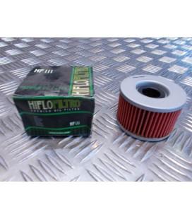 filtre a huile hiflofiltro hf 111 moto scooter honda