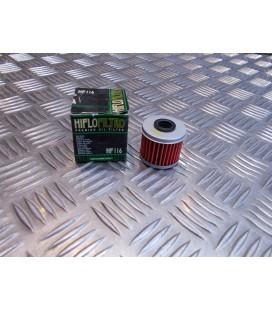 filtre a huile hiflofiltro hf 116 moto honda