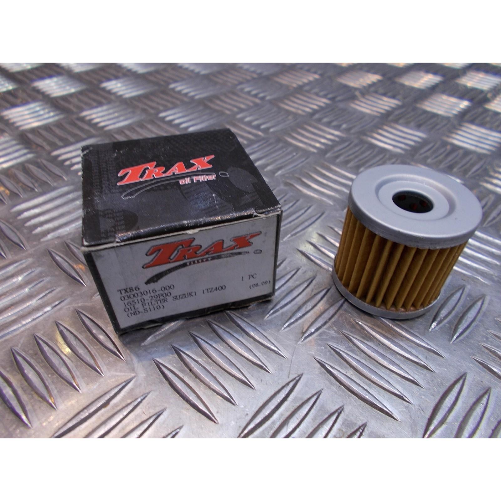filtre a huile trax tx86 16510-29f00 moto suzuki drz 400 quad ltz 450 ...