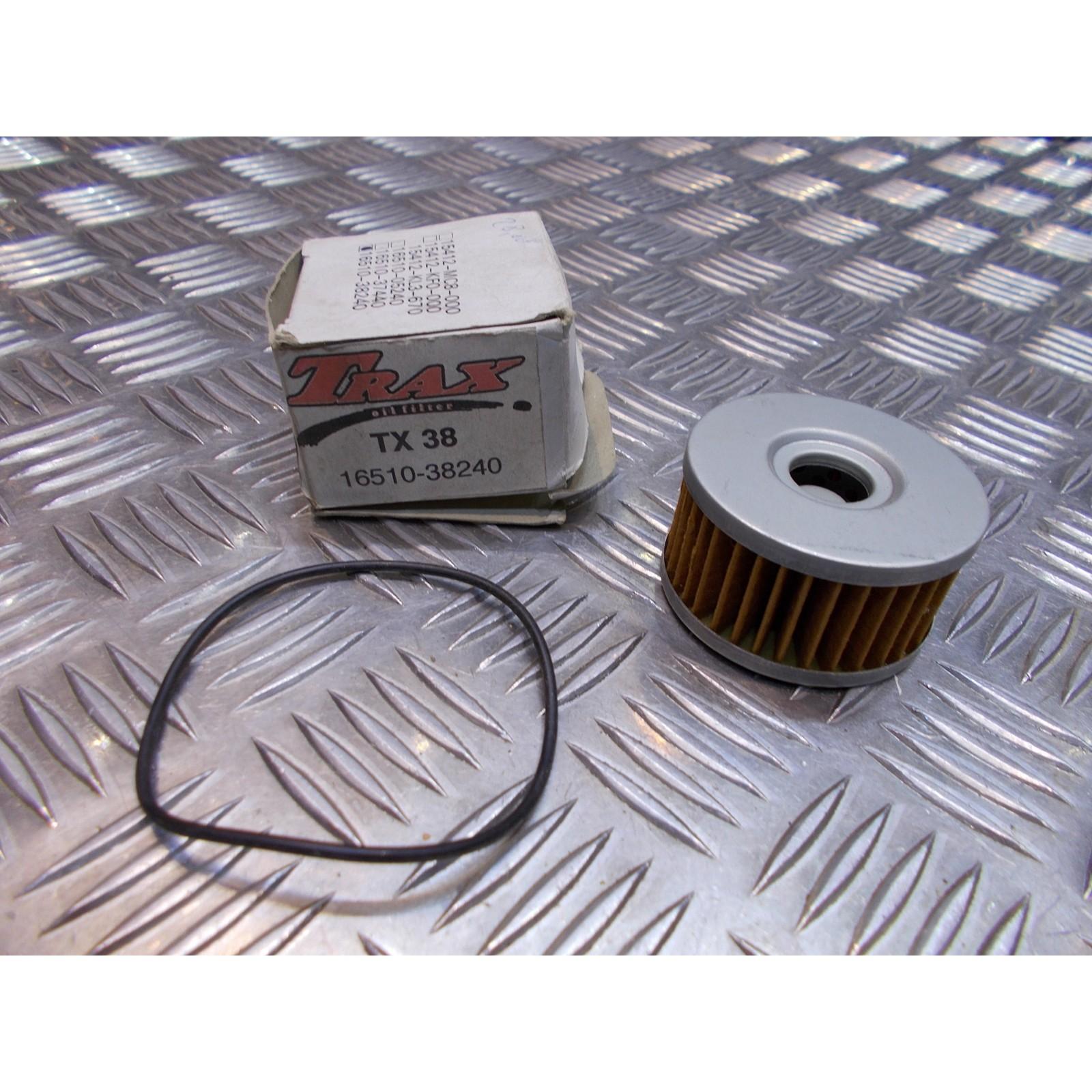 filtre a huile trax tx38 16510-38240 moto suzuki 125 250 350 dr tu gn vl ...