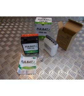 batterie 12v - 6Ah fulbat ytx7l-bs (Lg114xL71xH131) livree avec pack acide moto scooter