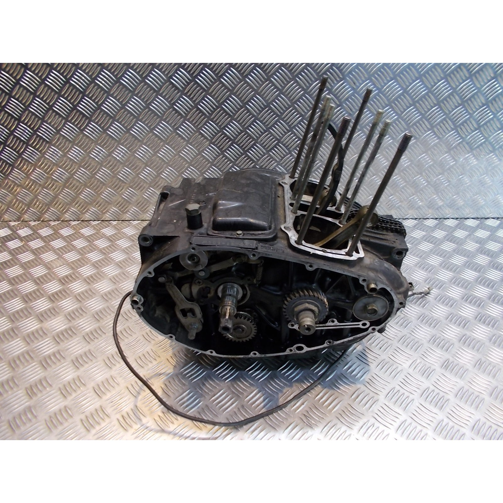 bas moteur embiellage vilebrequin boite vitesse moto suzuki gs 500 e gse gm51a m501
