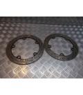 paire disque frein avant moto bmw k 1200 lt wb10545a 1999 - 03