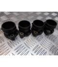 jeu 4 pipe admission support injecteur boitier papillon moto bmw k 1200 lt wb10545a 1999 - 03