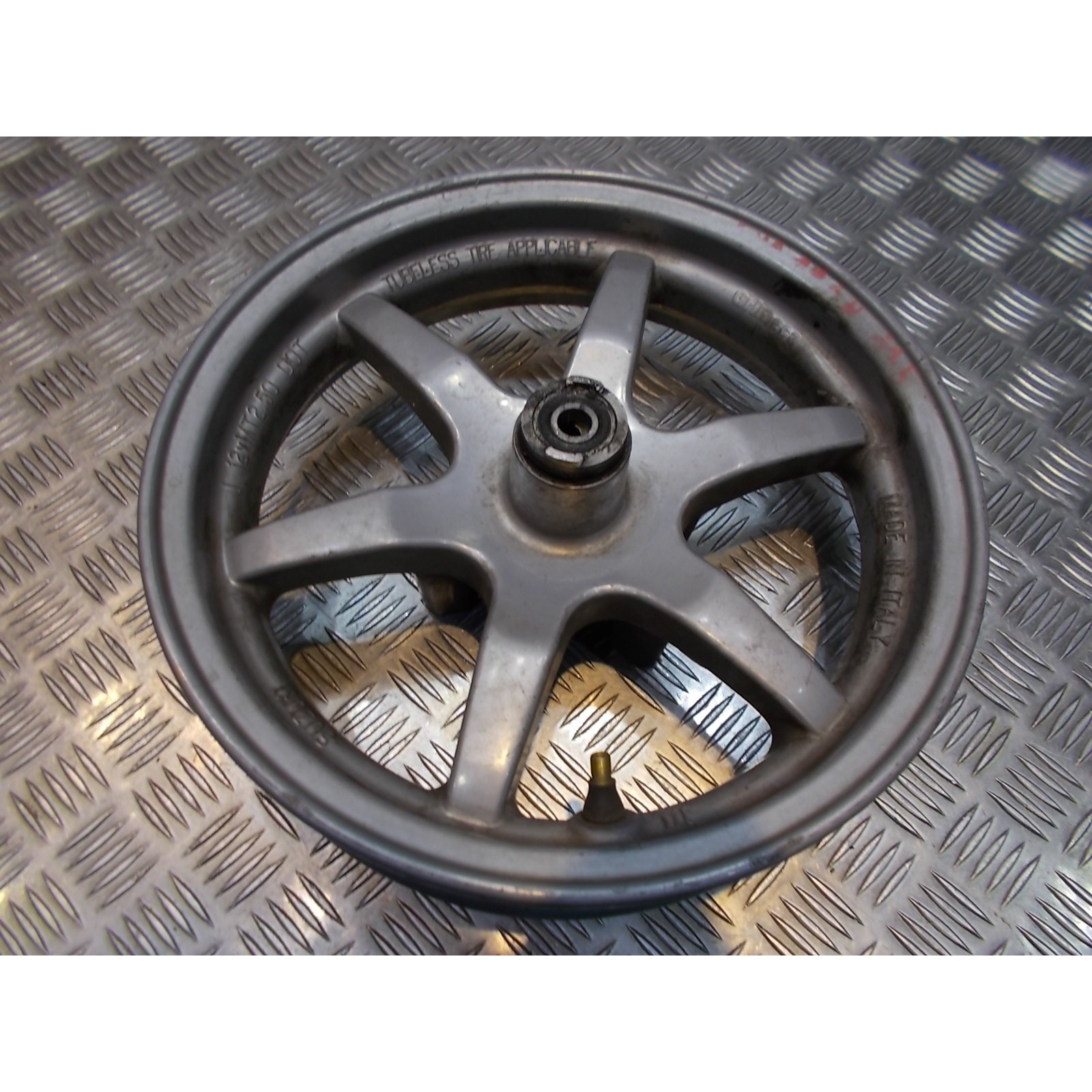 jante roue avant scooter suzuki uh 125 burgman bp111 2002 - 06