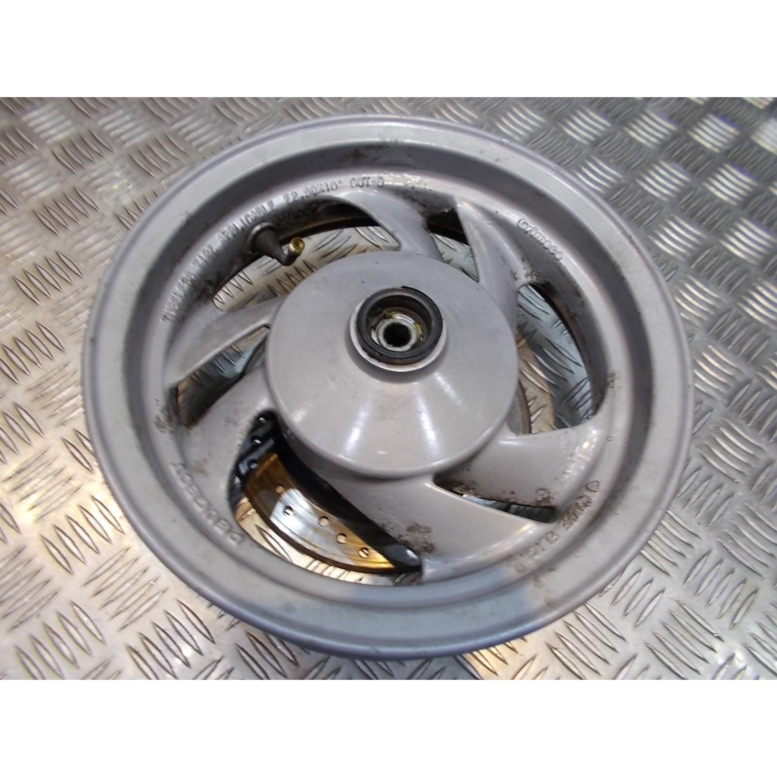 jante roue avant 2.50 x 10 grimeca scooter peugeot 125 sv