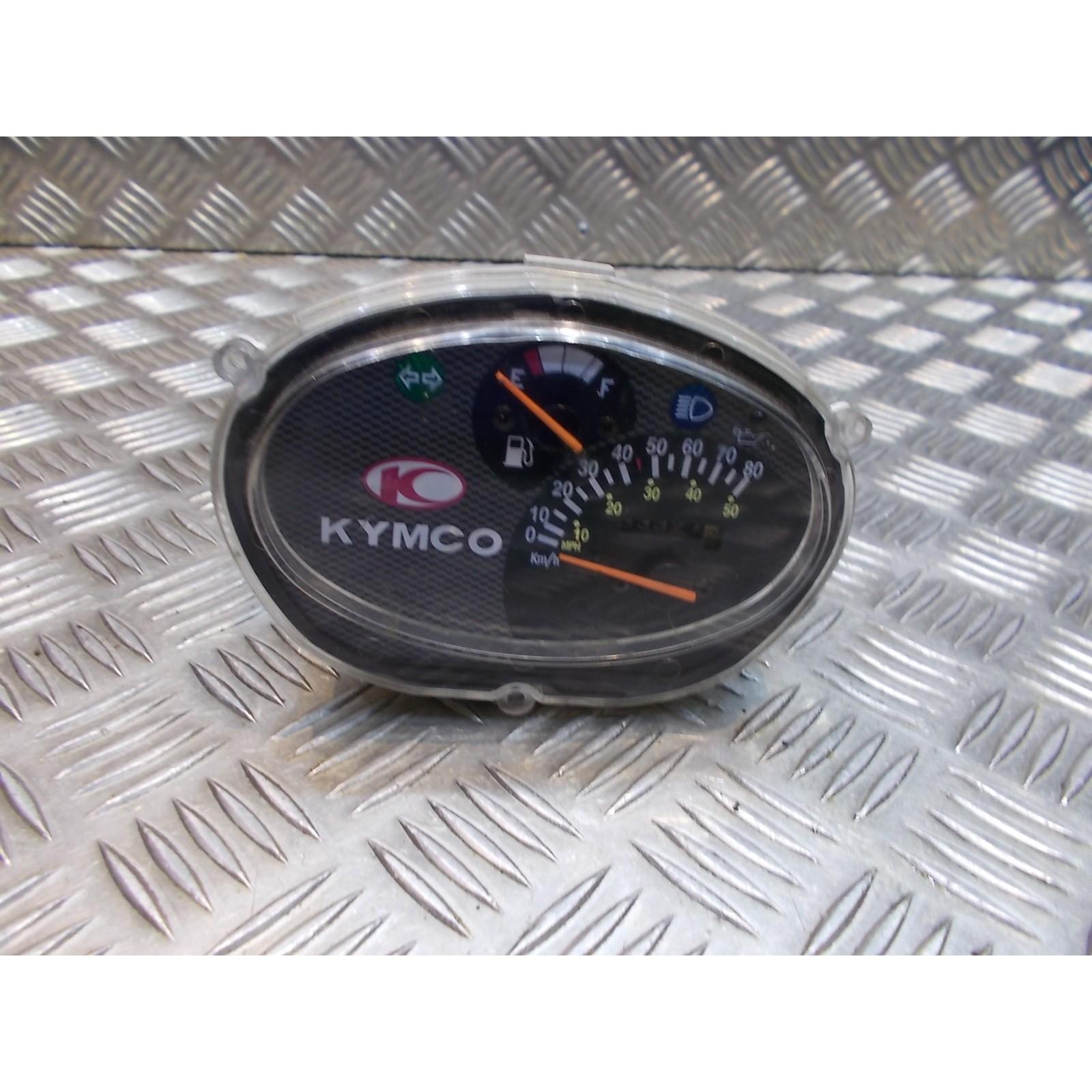 compteur vitesse tableau bord scooter kymco 50 super 9 2 temps