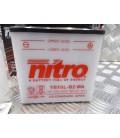 batterie nitro avec entretien 12v / 10ah YB10AL-B2 moto scooter quad lg135xl90xh145