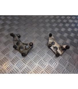 jeu support fixation moteur moto yamaha xj 600 s xjs diversion rj01 - 4br