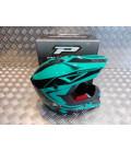casque progrip 3095 pour moto cross mx enduro taille xl 61 aqua