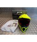 casque progrip 3095 pour moto cross mx enduro taille xl 61 jaune fluo