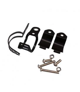 jeu platine support fixation clignotant sur fourche diam 30 mm a 45 mm moto quad