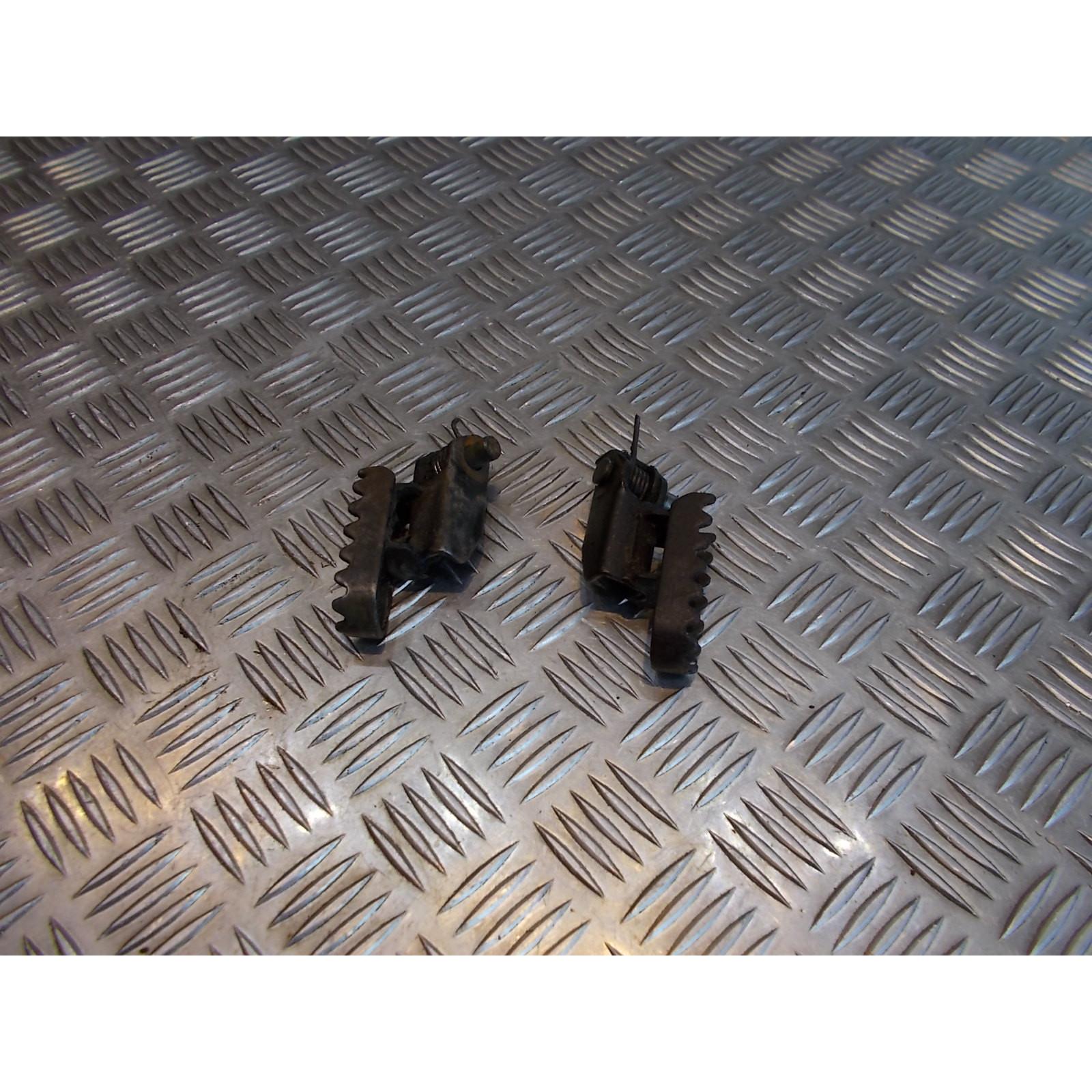 paire cale repose pied avant conducteur moto suzuki ts 125 er