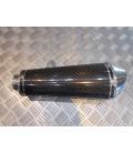 silencieux scorpion cone oval carbone 275 mm pour moto 18.119122 ESC138CEO pot echappement