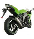 silencieux scorpion ovale titane moto kawasaki zx10r ninja 2008 76208013 EKA80TEO pot echappement zxr zx 10 r