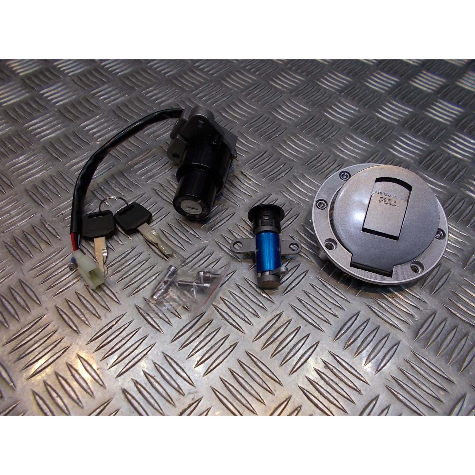kit neiman contacteur cle serrure selle bouchon essence moto yamaha 125 tzr 850 tdm ...
