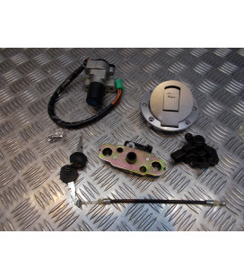 kit neiman contacteur cle serrure selle bouchon essence moto suzuki gs 500 e f gse gsf 2001 - 2012 gm51a vttbk232