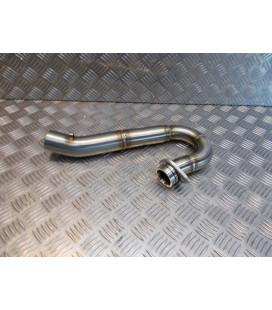 collecteur pro circuit rc4 dual inox t-6 moto honda crf 450 r 76036113 0 2115451 pot echappement