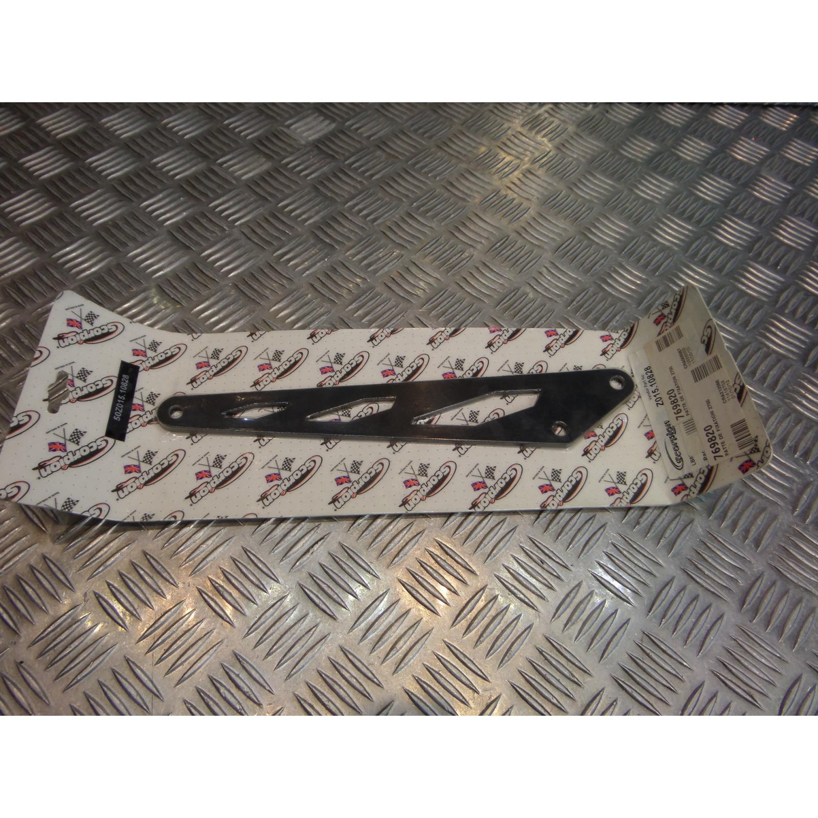 patte fixation pot silencieux echappement scorpion moto kawasaki z 750 769820 lb828 nouvelle generation z015.10828