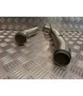 2 slip on tube catalyseur pot echappement mivv moto kawasaki z 1000 mv9773k020k7 9773k020k7 collecteur raccord tuyau manchon cat