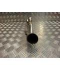 manchon tube 2 en 1 silencieux serket pot moto kawasaki 650 er6 76006511 CP677 ligne echappement tuyau raccord collecteur z035.1