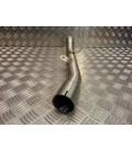 manchon droit tube silencieux pot moto kawasaki 1400 zzr 769858 CP460 ligne echappement tuyau raccord collecteur position origin