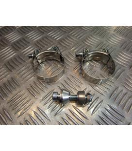 montage scorpion cp013 tube pot silencieux moto yamaha yzf 750 r Z039.YA53 collier echappement raccord manchon ligne