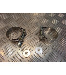 montage scorpion cp130 tube pot silencieux moto kawasaki zx 636 ninja Z039.KA67 collier echappement raccord manchon ligne