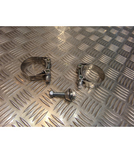 montage scorpion cp433 tube pot silencieux moto yamaha xjr 1300 Z039.YA80 collier echappement raccord manchon ligne