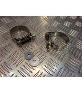 montage scorpion cp104 tube pot silencieux moto honda cbr 600 Z039.10028-R collier echappement raccord manchon ligne