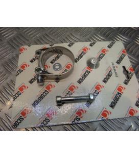 montage scorpion cp032 tube pot silencieux moto suzuki gsx 750 r gsxr Z039.SI53 collier echappement raccord manchon ligne