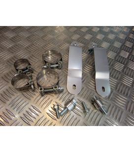 montage scorpion cp080 81 tube pot silencieux moto cb 900 hornet Z039.HA76 collier echappement raccord manchon ligne