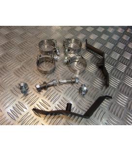 montage scorpion CP073 74 tube pot silencieux moto yamaha 1300 xjr Z039.YA52 collier echappement raccord manchon ligne
