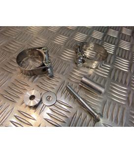 montage scorpion CP137 tube pot silencieux moto honda cb 600 hornet Z039.HA80 collier echappement raccord manchon ligne