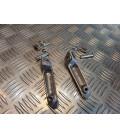paire cale repose pied avant moto yamaha yzf 1000 600 r1 r6 1998 - 2014