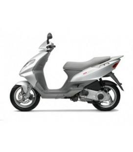 plaque cadre + carte grise scooter derbi 125 boulevard 2003