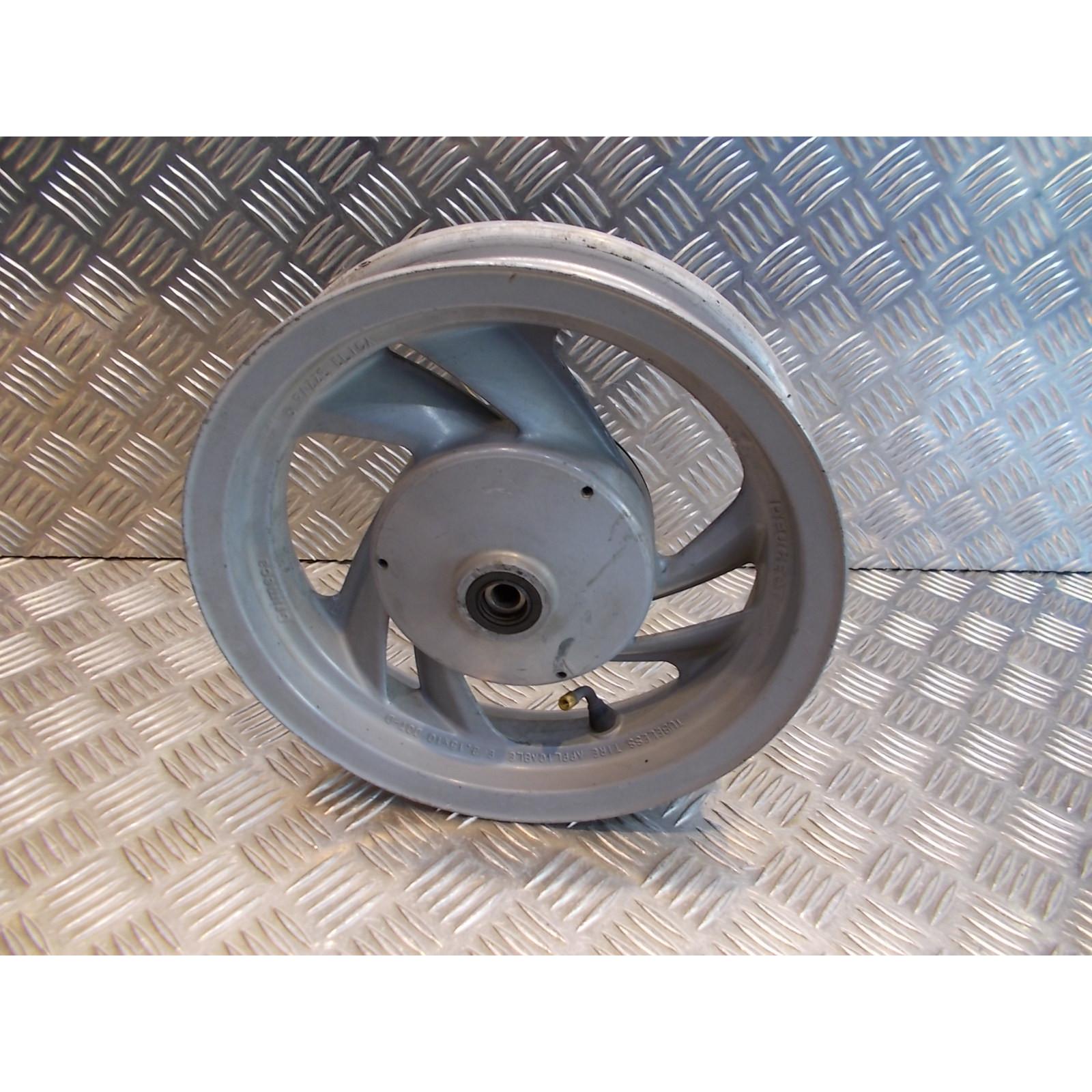 jante roue avant 2.15 x 10 scooter peugeot 50 80 sv tambour