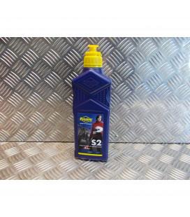 1 litre d huile putoline s2 moto scooter semi synthetique 2 temps