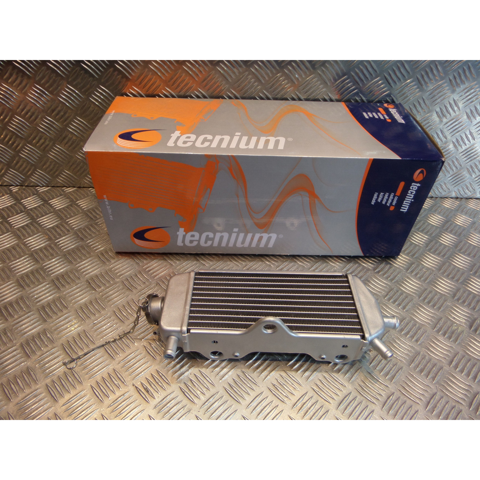 radiateur eau droit tecnium b61a-ml moto yamaha yz 125 2005 - 20 bihr 960051